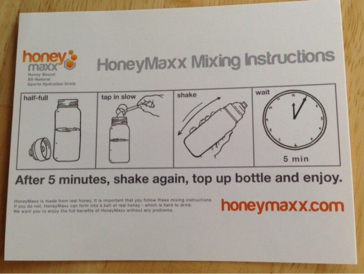 HoneyMaxx mixing directions