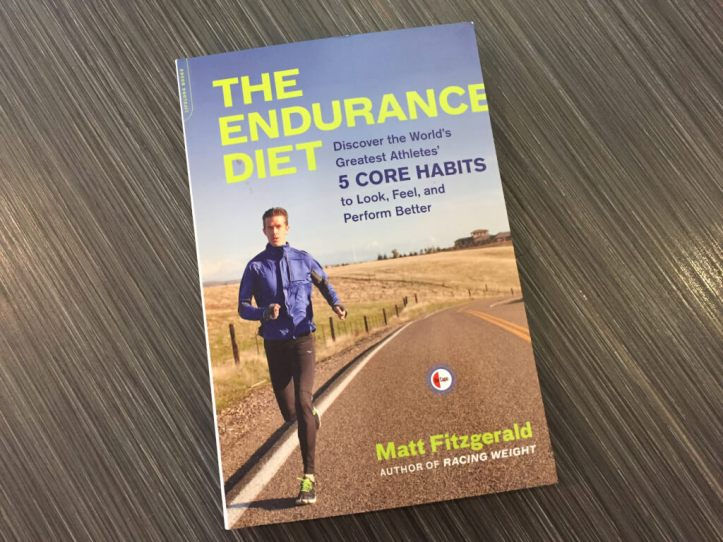 The Endurance Diet by Matt Fitzgerald book