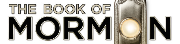 Book of Mormon - Broadway play logo