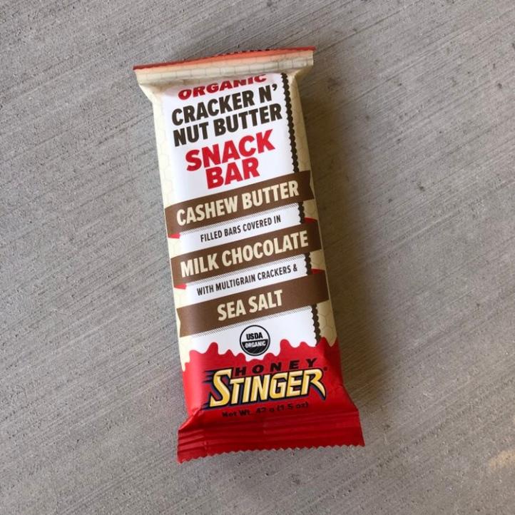 Honey Stringer Cracker 'n' Nut Butter bar