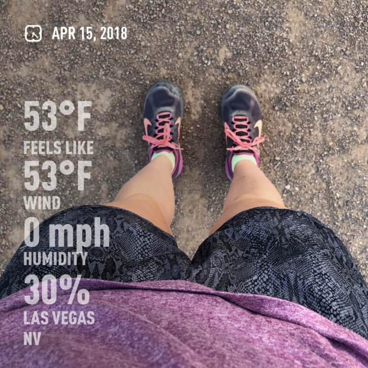 Daily Run Feet Photo