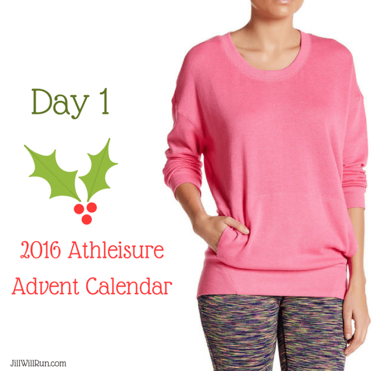 2016 Athleisure Advent Calendar - Day 1