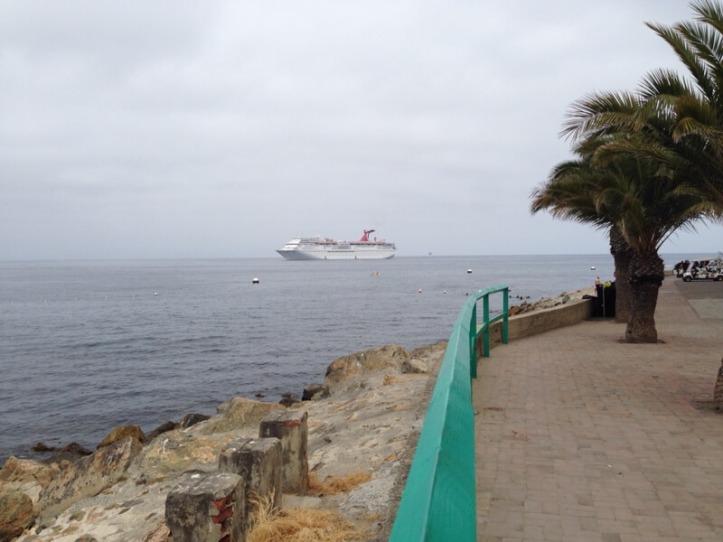 Carnival Imagination off Catalina Island