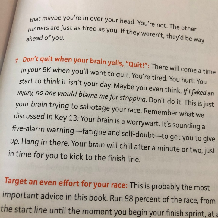 Don't quit when your brain says to - Fast 5k