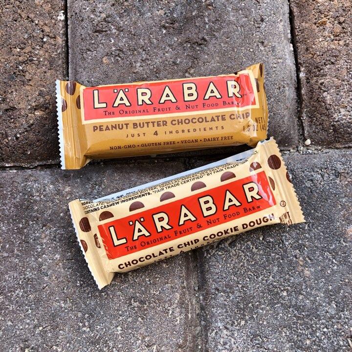 Larabars from a FunRunBox